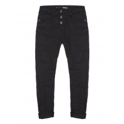 JEAN PLEASE BOYFRIEND FORME P78 COLORIS NERO