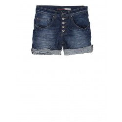 SHORT PLEASE FORME BOYFRIEND DENIM MEDIUM BLUE