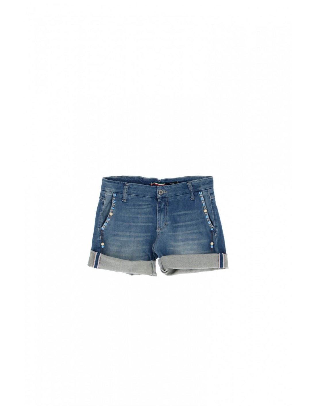 best website a843d b6c9e please-femme-short-en-denim-et-parement-en-perles.jpg