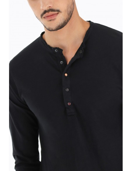 TEE-SHIRT IMPERIAL HOMME COL BOUTONNE COLORIS